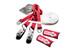 Slackline-Tools Clip'n Slack Set - Slackline kit - 15 m rojo